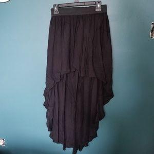 Flowy High Low Skirt